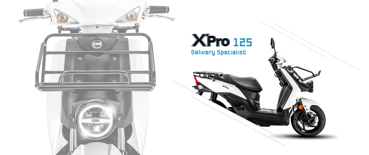 NEW X'Pro 125 – Sym Scooters